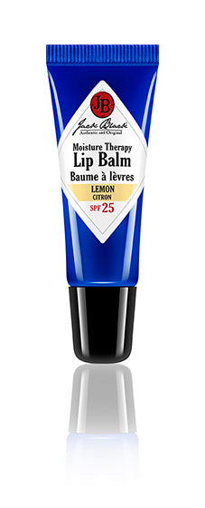 JACK BLACK MOISTURE THERAPY LIP BALM SPF 25- LEMON 7g