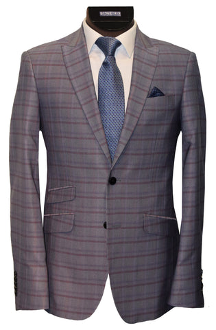 SOUL OF LONDON 2 PIECE SUIT- GREY