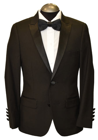 SOUL OF LONDON 2PIECE BOY TUXEDO- BLACK