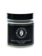 CROWN SHAVING CO.  STRUCTURE STYLING PASTE 120ml/4 fl oz.