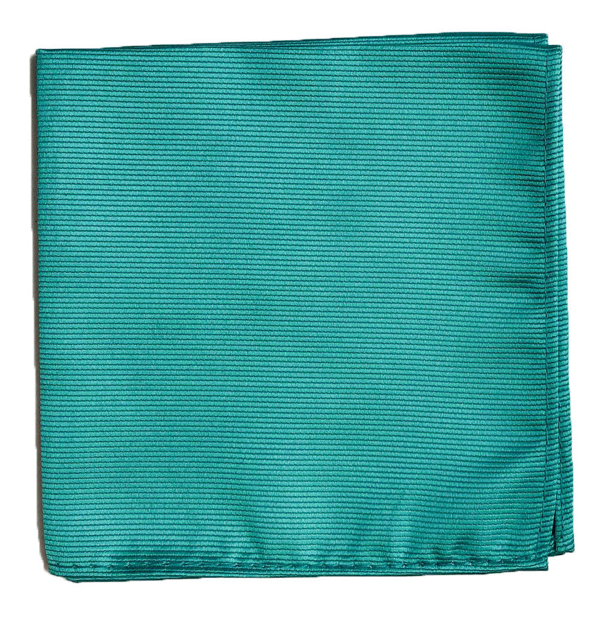 POCKET SQUARE-TURQUOISE