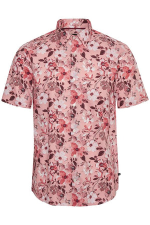 MATINIQUE SHORT SLEEVE ROBO SHIRT- SUMMER PINK