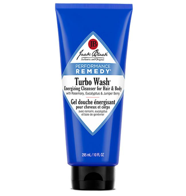 JACK BLACK TURBO WASH ENERGIZING CLEANSER FOR HAIR AND BODY 295ml