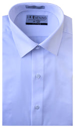 IKE EVENING DRESS SHIRT- WHITE