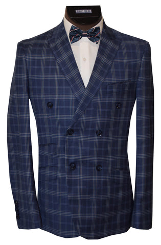 SOUL OF LONDON 2 PIECE SUIT- BLUE