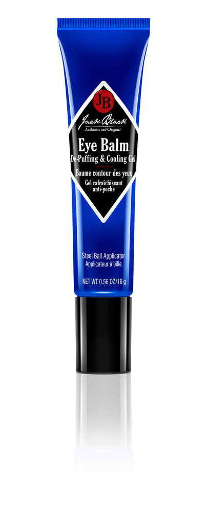 JACK BLACK EYE BALM DE-PUFFING COOLING GEL 16g