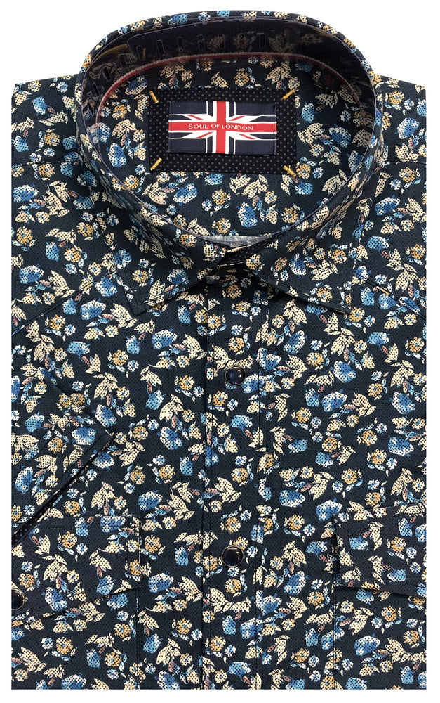 SOUL OF LONDON SHORT SLEEVE SHIRT
