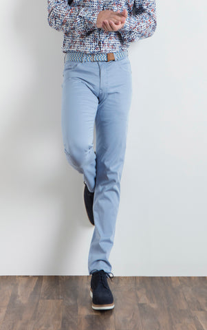 7 DOWNIE ST. LONDON PANT-LIGHT BLUE
