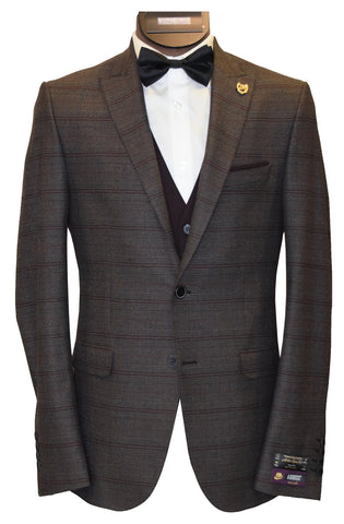 AGIBOSS 3-PIECE SUIT