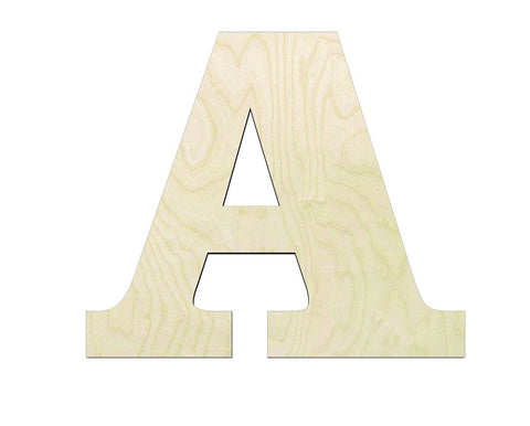 DIY Wood Letter Cutouts