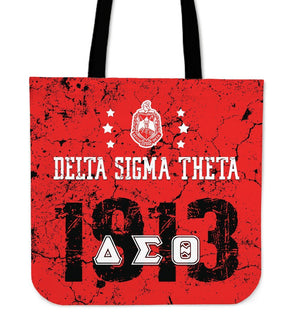 Delta Sigma Theta Founding Year Tote Bags