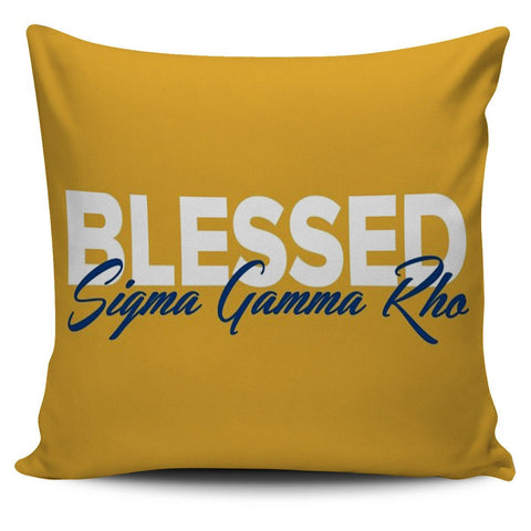 Sigma Gamma Rho Pillow Covers