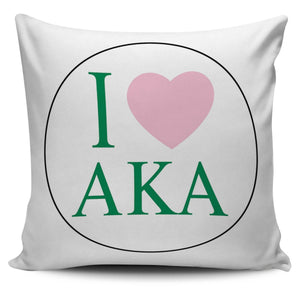 Alpha Kappa Alpha Pillow Covers