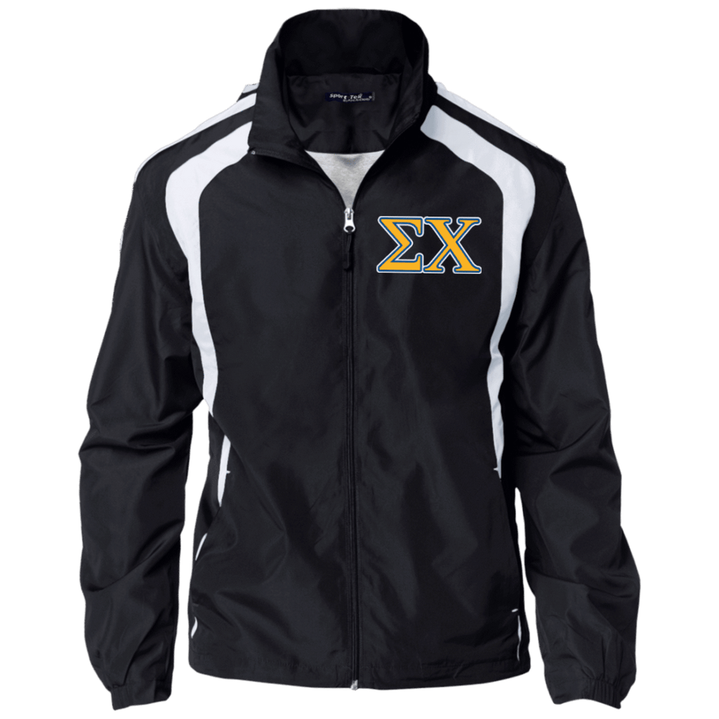 Sigma Chi Jersey-Lined Jacket