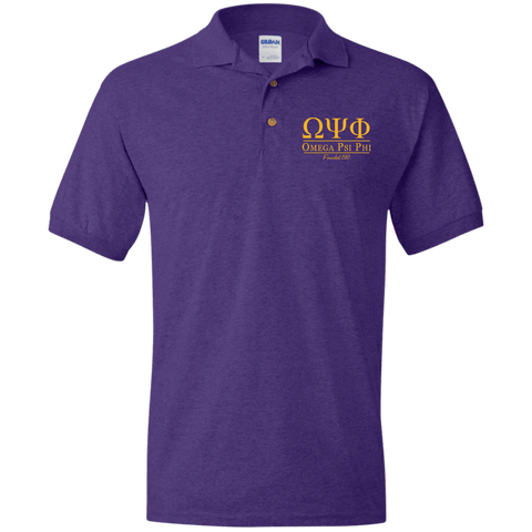 Omega Psi Phi Jersey Polo