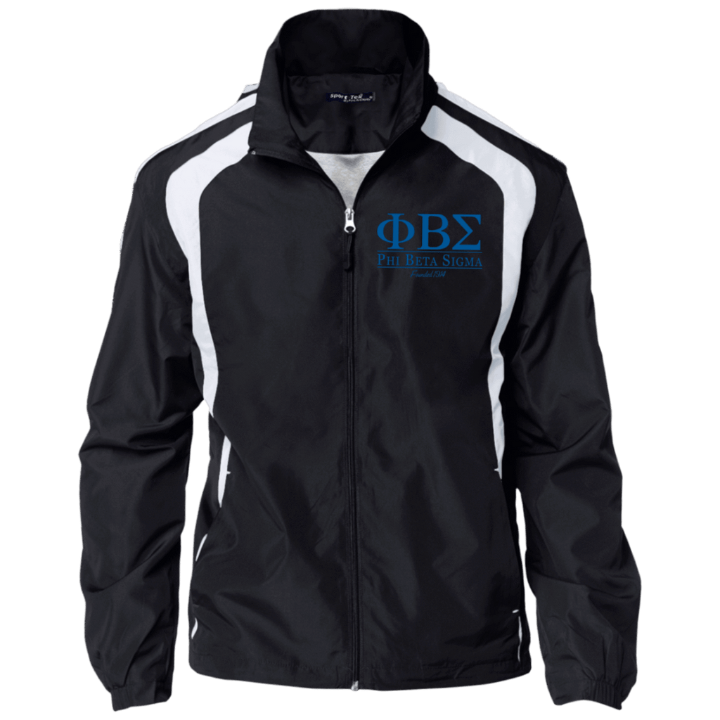 Phi Beta Sigma Jersey-Lined Jacket