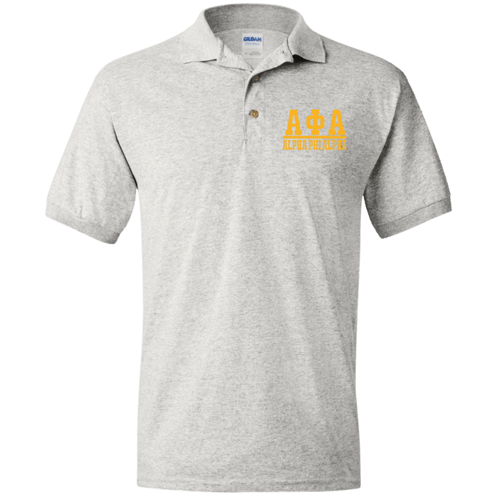 Alpha Phi Alpha Jersey Polo Shirt for Him
