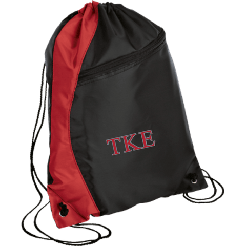 Tau Kappa Epsilon Colorblock Cinch Pack