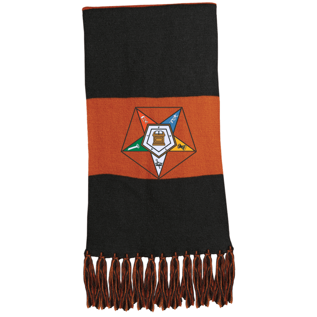 Order Of The Eastern Star Fringed Scarf