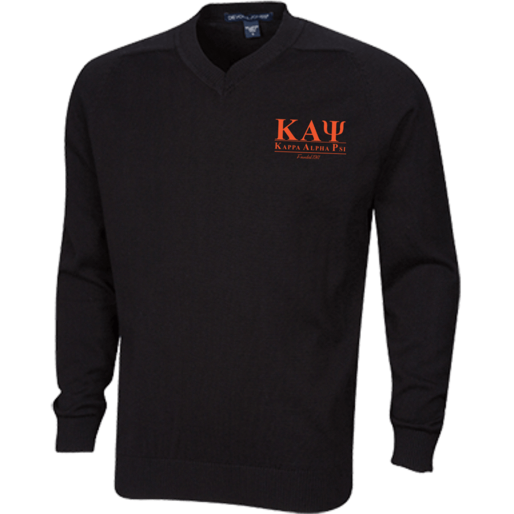 Kappa Alpha Psi Embroidered V-Neck Sweater