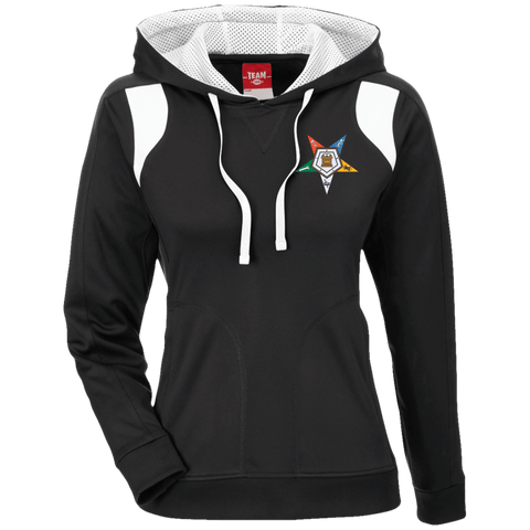 Order Of The Eastern Star Colorblock Poly Hoodie