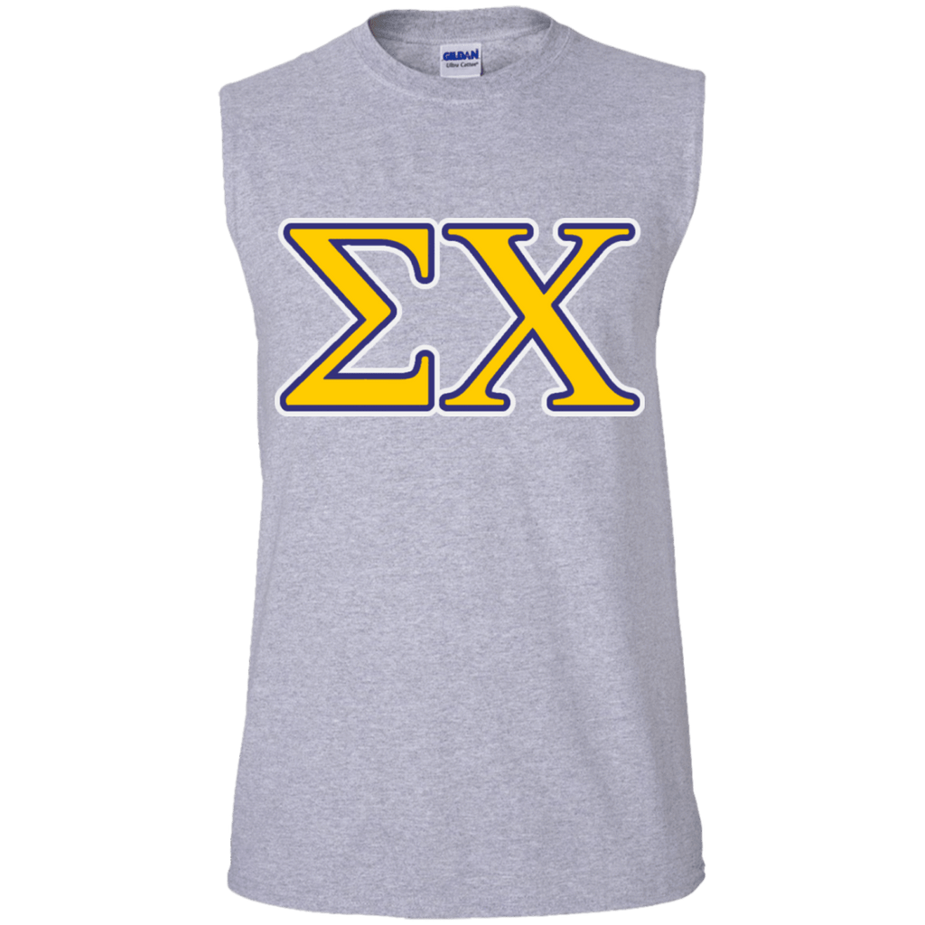Sigma Chi Cotton Sleeveless Tee