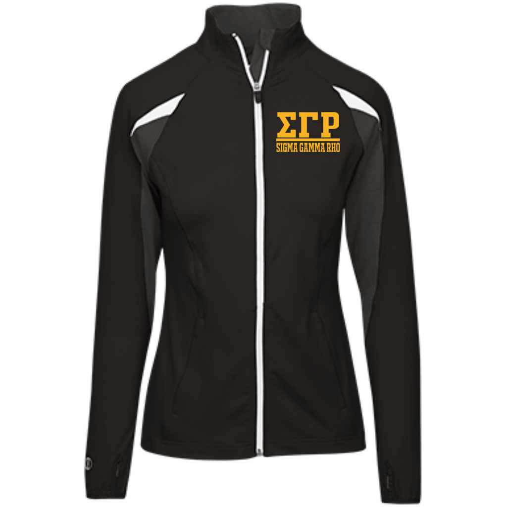 Sigma Gamma Rho Girls' Performance Warm-Up Jacket