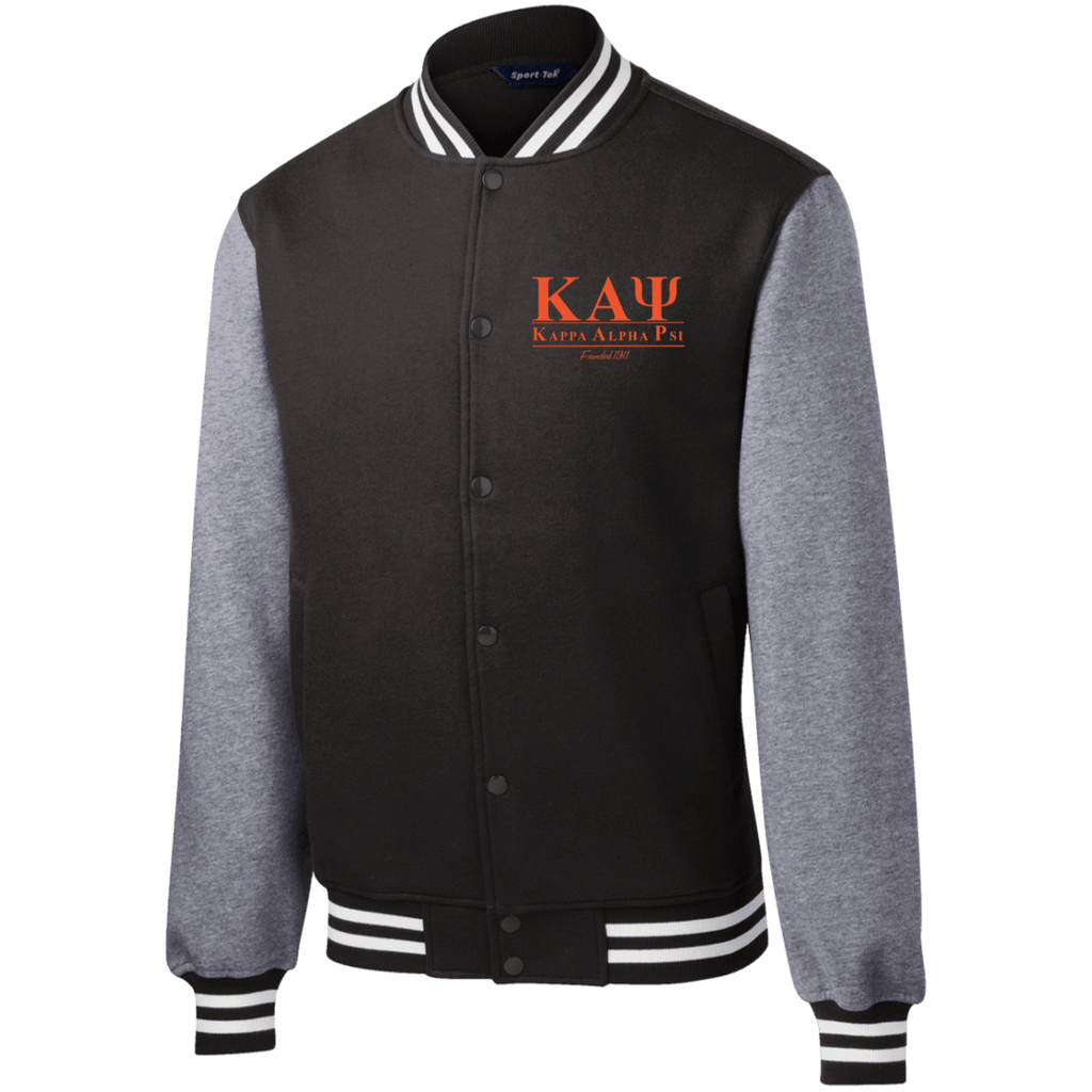 Kappa Alpha Psi Fleece Letterman Jacket