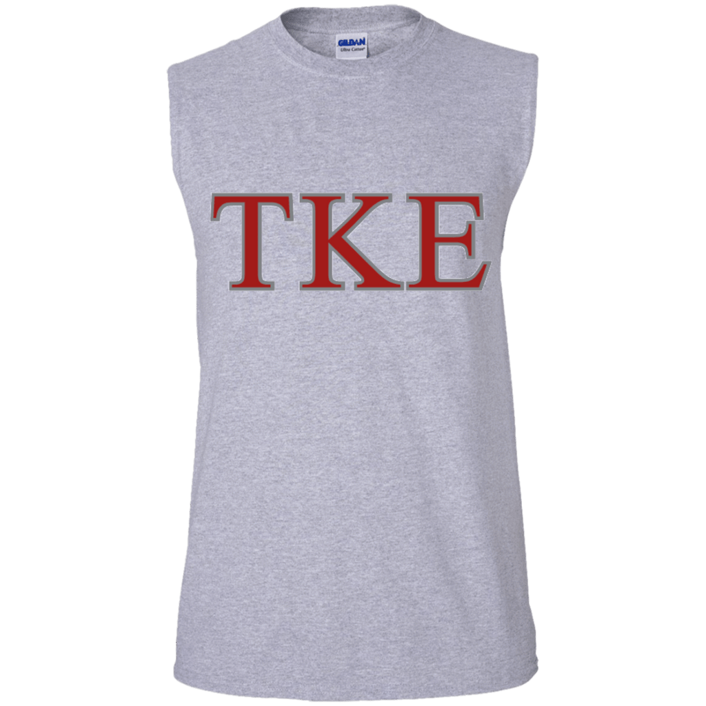 Tau Kappa Epsilon Cotton Sleeveless Tee