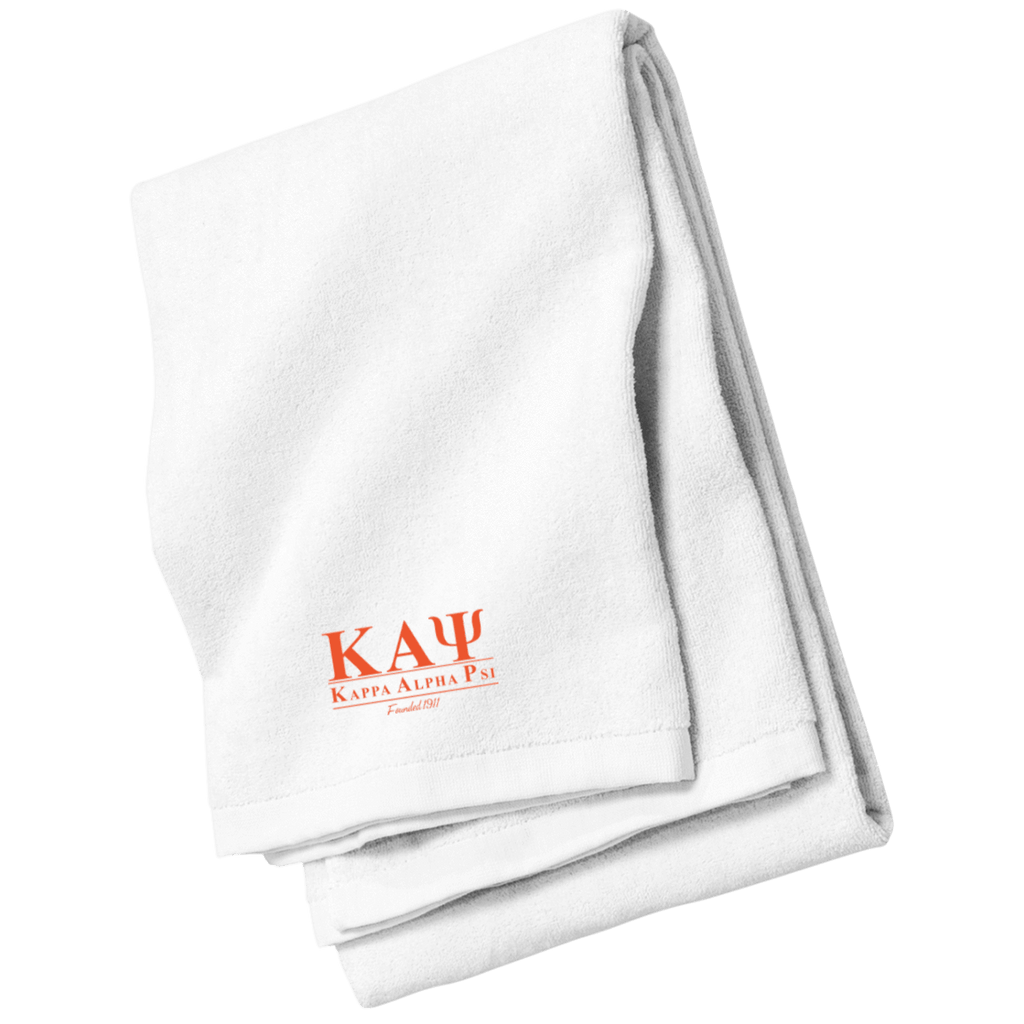 Kappa Alpha Psi Beach Towel