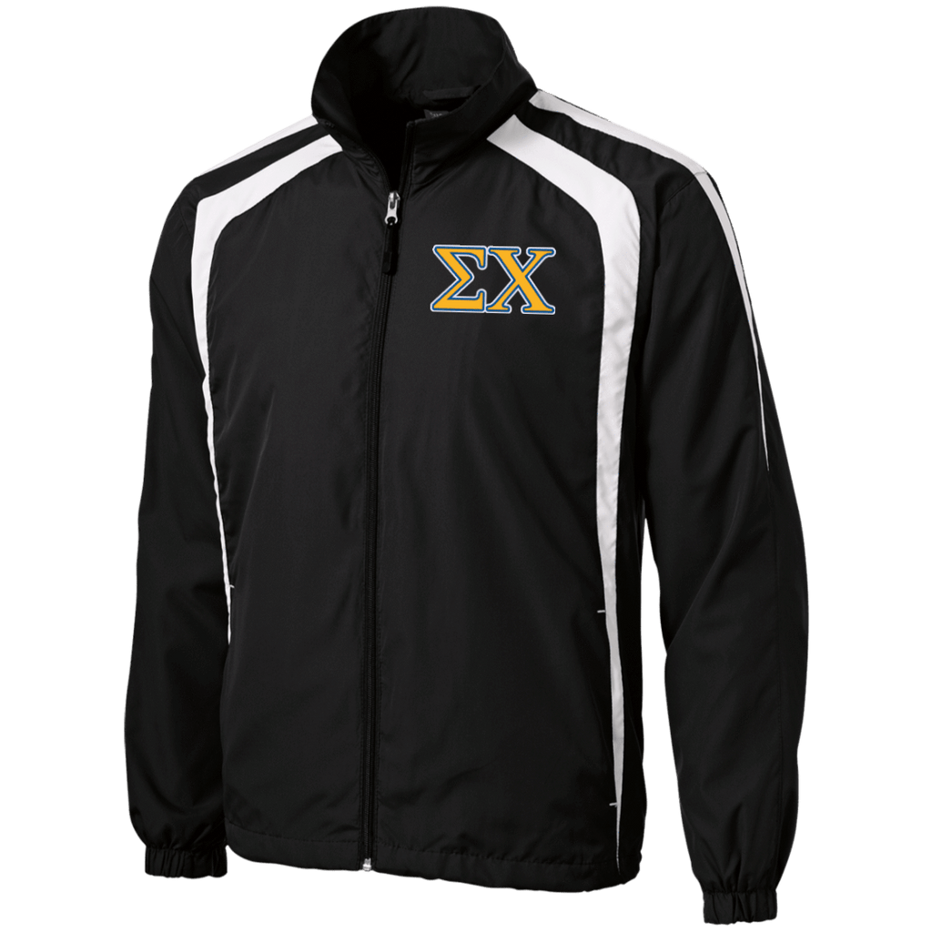 Sigma Chi Tall Personalized Jersey-Lined Jacket