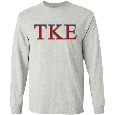 Tau Kappa Epsilon  LS Ultra Cotton Tshirt