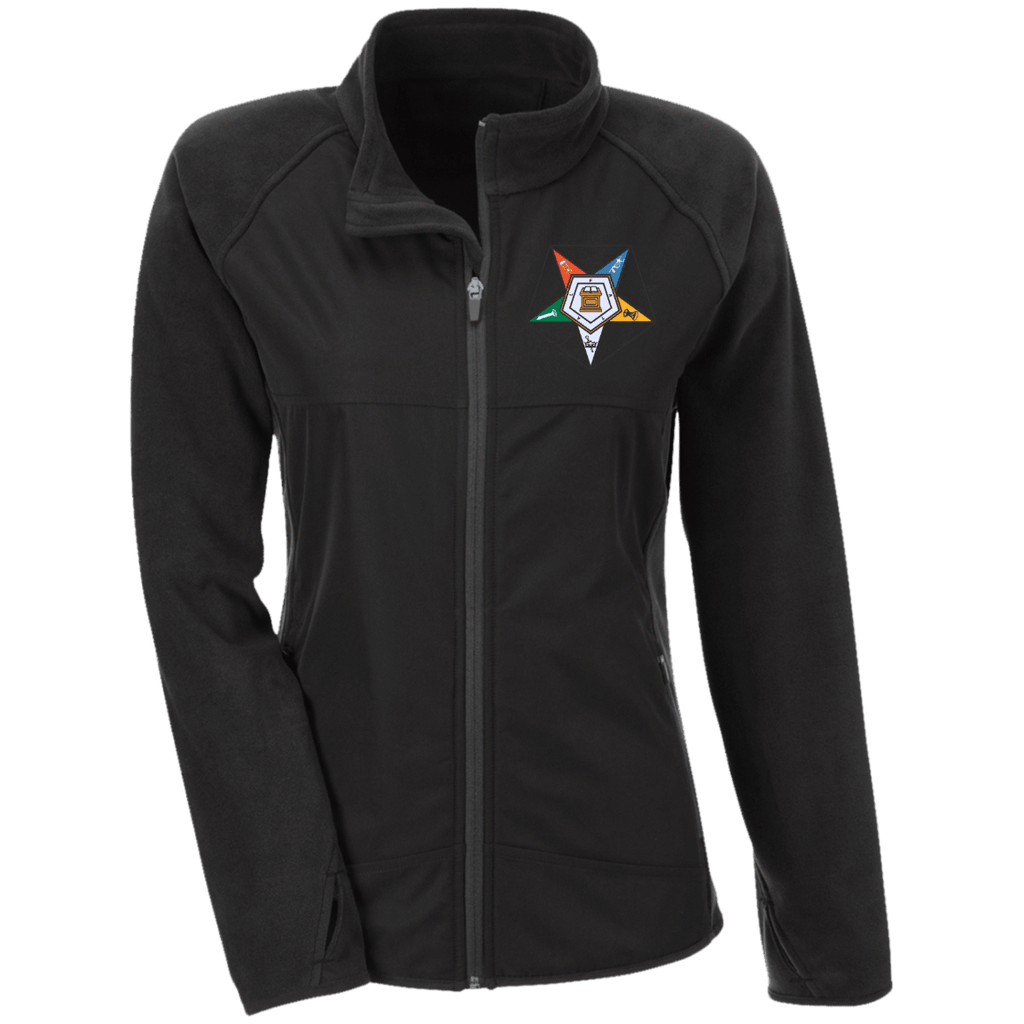 Order Of The Eastern Star Microfleece with Front Polyester Overlay