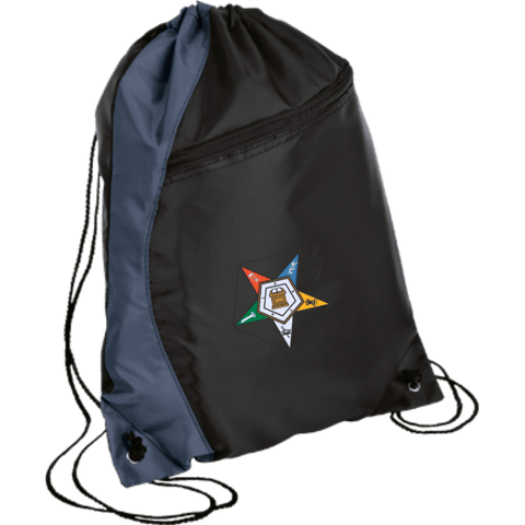 Order Of The Eastern Star Colorblock Cinch Pack