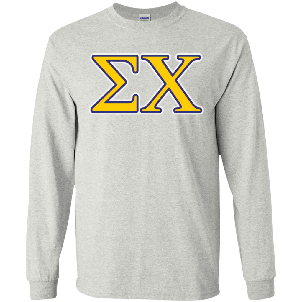 Sigma Chi LS Ultra Cotton Tshirt