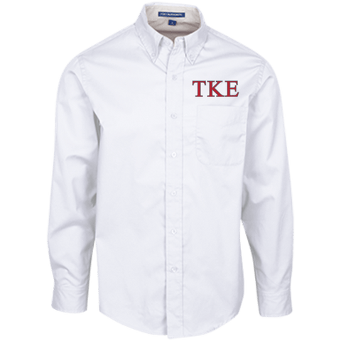 Tau Kappa Epsilon  Long Sleeve Dress Shirt