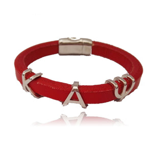 Kappa Alpha Psi Leather Cuff