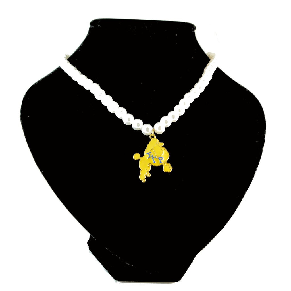 Sigma Gamma Rho Pearl Necklace