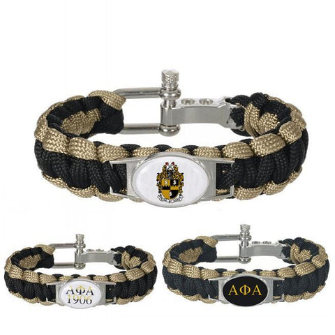 Alpha Phi Alpha Adjustable Bracelet