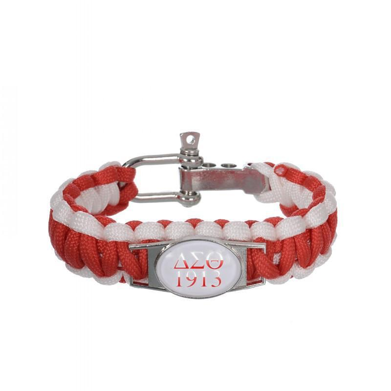 Delta Sigma Theta Adjustable Bracelet