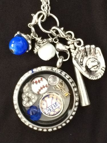 Royals Inspired Memory Locket Necklace W/Chain Royals Necklace