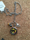 Iowa Hawkeyes  Inspired Necklace Memory Locket Hawkeyes Inspired Locket