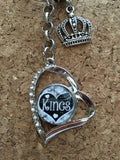 Kings Inspired Snap Keychain / Kings Inspired Key chain