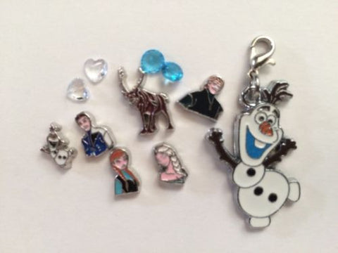 Disney Frozen Inspred Charms For Memory Locket / living Locket