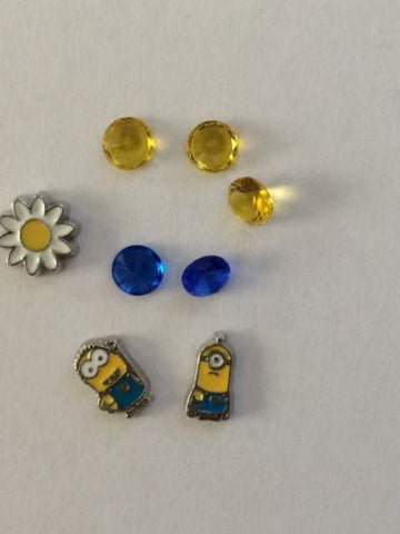 Despicable Me Inspired Memory Locket Charms