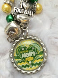 Packers Inspired Keychain Packers Handcrafted Key chain