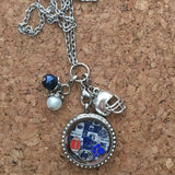 Penn State Nittany Lions Inspired Necklace Living Locket Necklace