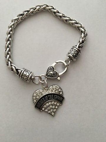 MOTHER OF THE GROOM ANTIQUE FINISHED BRACELET NEW FREE SHIPPING