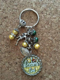 Packers Inspired Key chain Packers Handcrafted Key Chain #10