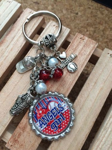 Angels  Inspired Bottle Cap Keychain Angels Key chain